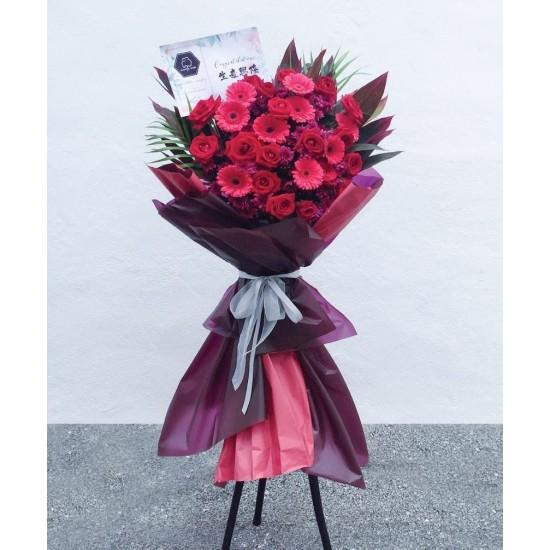 Flowers arrangement for Shop Opening