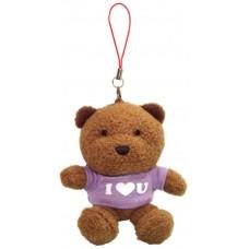 I Love You Teddy Bear (Purple)