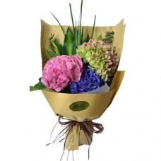 Colorful Hydrangea Bouquet
